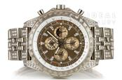 18K Breitling Factory 1 of 1 Bentley Mulliner Perpetual Calendar Chrono J29362